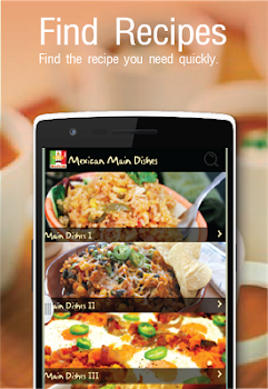 Mexican Recipes Free App