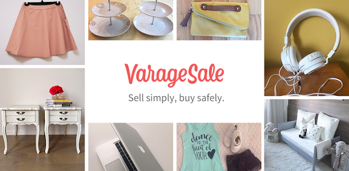 VarageSale: Sell simply, buy safely.