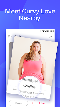 free dating app for plus size