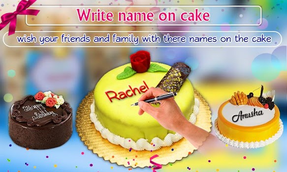 Birthday Greeting Cards Maker: photo frames, cakes
