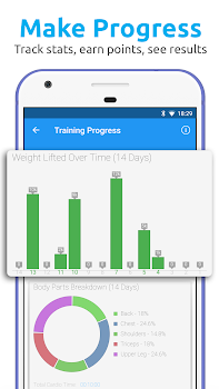 JEFIT Workout Tracker, Weight Lifting, Gym Log App