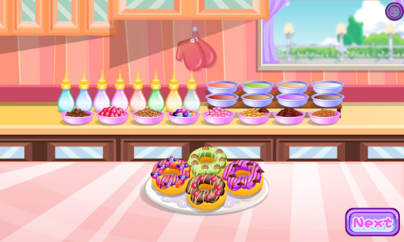 Donuts cooking games