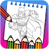 Super Hero Coloring Book for Kids New Coloring