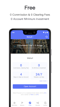 Webull - Free Stock Trading & Real Time Quotes