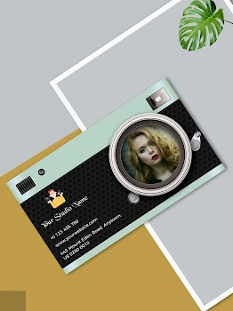Business card maker name card design creator by photo studio business card maker name card design creator reheart Image collections