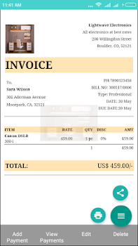 Invoices And Billing Software Downloads By Momobills - How to creat an invoice catholic store online