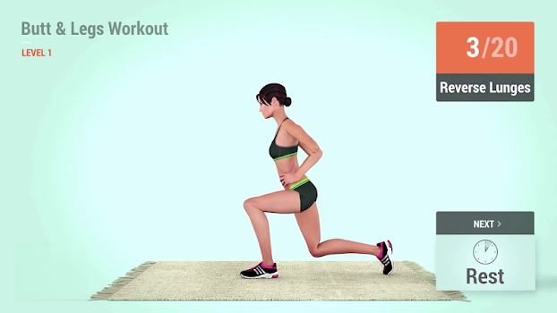 9 Minutes Bigger Butt Workout