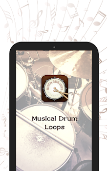 Musical Drum Loops : Learn and Practice your Tunes