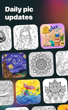Colorist: Adult coloring book