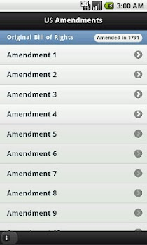 US Amendments