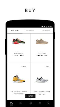GOAT Buy Sell Sneakers By GOAT App In Shoes Shopping - Best free invoice authentic online sneaker stores