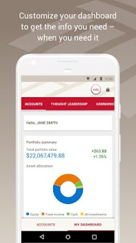 U.S. Trust Account Access for Android