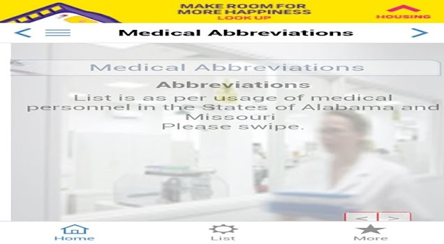 medical abbreviations pro terminology english us by webprogr com