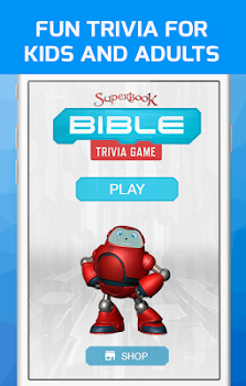 Superbook Bible Trivia Game