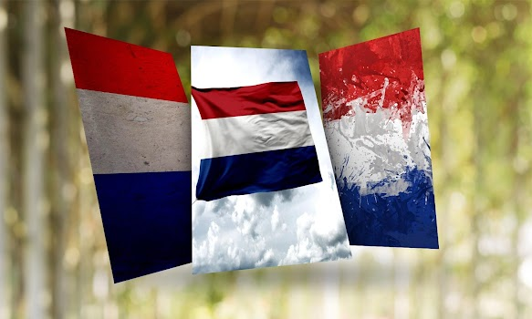 Netherlands Flag Wallpaper By Hd Flags Personalization Category