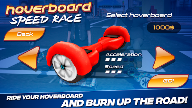 Hoverboard Speed Race