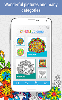 Coloring Book For Adults Holicoloring By Itss Games Art