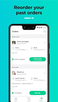 Dunzo - 24X7 Delivery: Grocery, Food, Packages
