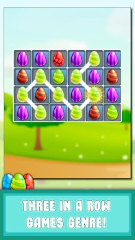 Match 3 Games: Egg Crush & Puzzles!