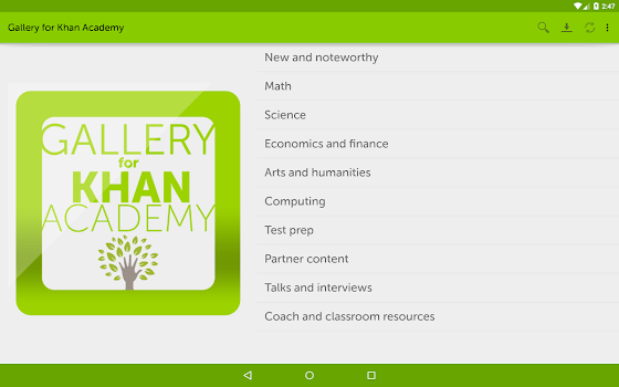 Gallery for Khan Academy