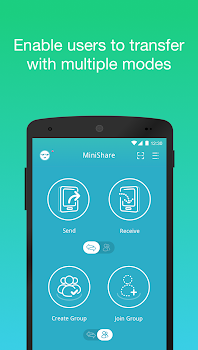 Zapya MiniShare - Mini Size File Transfer App