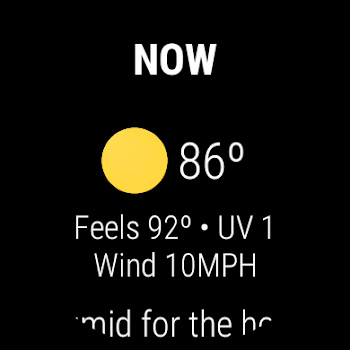Weather Maven for Wear OS