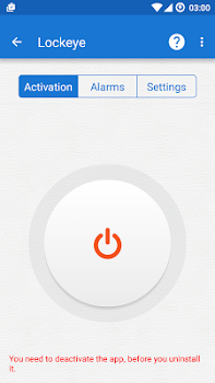 Lockeye : Wrong password alarm &  Anti-Theft