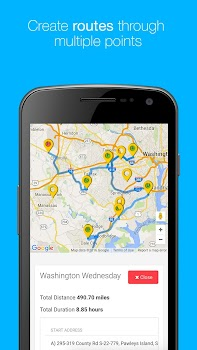 Map My Customers Route Planner