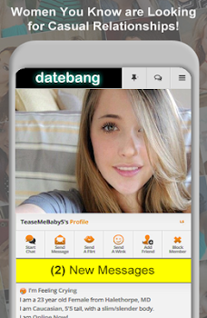 ... DateBang Free Hookup Dating ...