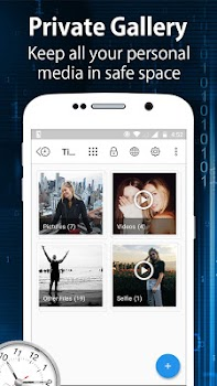 Clock - The Vault : Secret Photo Video Locker
