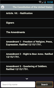 U.S Constitution + Amendments