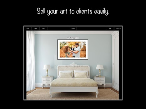 WallPicture - Art room design photography frame