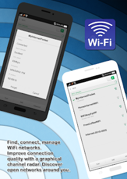 Free WiFi Analyzer Manager - by pom 450 santi