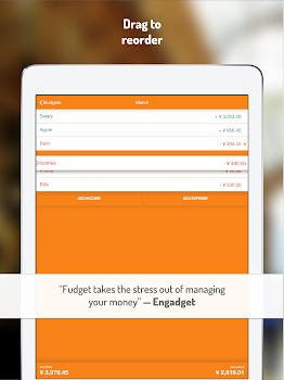 Fudget: Budget and expense tracking app
