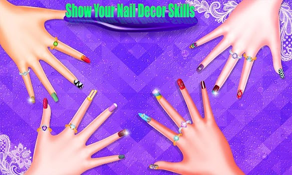 Nail Art Makeover Salon Girls Fashion Games By Yippee Gamers