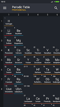 Periodic table 2018 pro by august software 7 app in periodic 7 education periodic table of elements urtaz Image collections