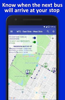 Nyc Live Bus Tracker Map By Eddie Soto 12 App In Public
