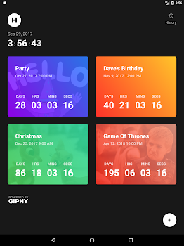 Hurry - Countdown to Birthday/Vacation (& Widgets)
