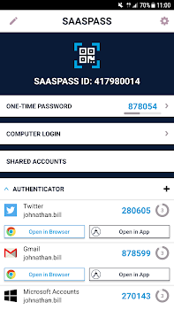 SAASPASS Authenticator App & Free Password Manager