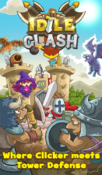 Idle Clash - Tap Frontier Defender
