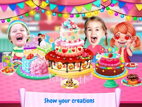 Cake Maker by Crazy Cats 10 App in Cake Making Games Casual