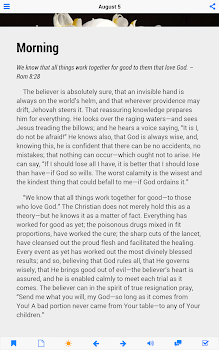Morning and Evening by Charles Spurgeon - Lite