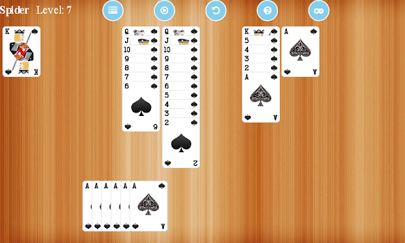 Spider Solitaire Free - by Z Apps Studio - Card Games Category - 90