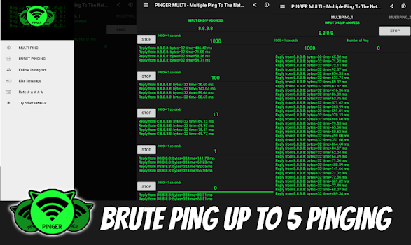 MULTI PINGER - Pinging To The Next Level