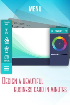 Best 10 apps for designing business cards appgrooves business card maker creator reheart Gallery