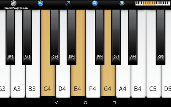 Piano Chords, Scales, Progression Companion PRO - by Songtive ...