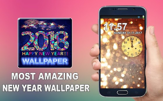 best new year live wallpaper 2018 for mobiles