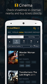 JustWatch - Search Engine for Streaming and Cinema