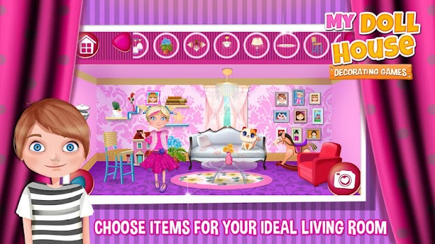 My Doll House Decorating Games By Super Cool Girl Games And Apps