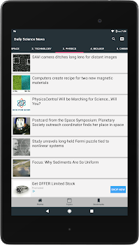Science News Daily - Fastest Science News App